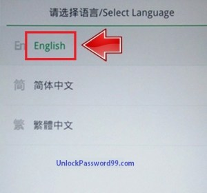 oppo Language option