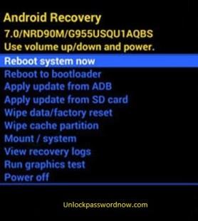 Infinix Phone mobile Hard Reset - Reboot option
