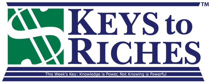 Money Key Knowledge is Power, Not Knowing is Powerful