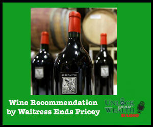 Wine Recommendation by Waitress Ends Pricey