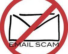 Email Scam Alert