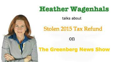 WNJC Interviews Heather Wagenhals on the Latest Stolen Tax Refund Scam