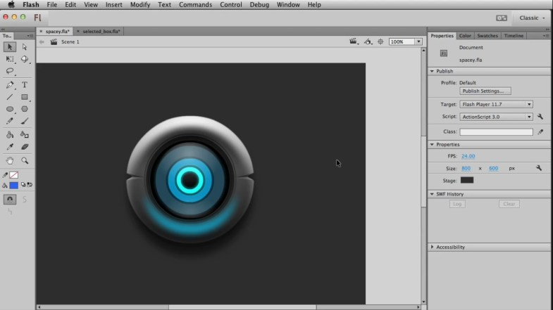Create smoother and beautiful buttons- game art course