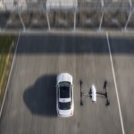 Race Between Jaguar Xj And Dji Drone Demos Uas For Stunt Filming Unmanned Aerial