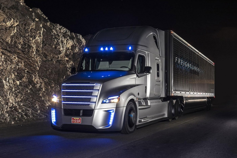 Autonomous Freight Truck in the U.S.