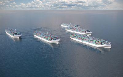 Unmanned Autonomous Cargo Ships