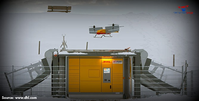 DHL's ParcelCopter 3.0 – A Tiltwing Delivery Drone