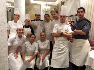 Part of my team at La Passagére