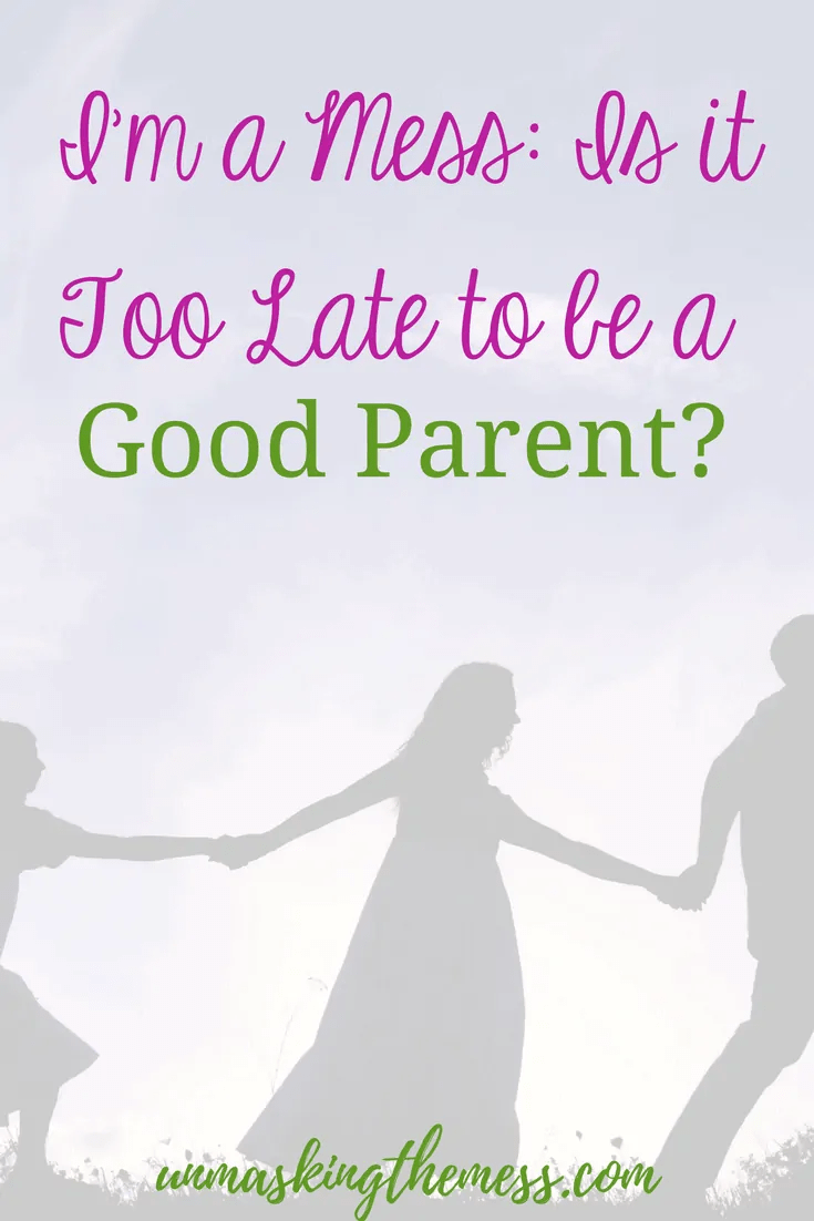 I'm a Mess: Is it Too Late to be a Good Parent?Messes and mistakes will happen but ultimately I know that God is working them out for my good and my children's good. We can be an overcomer of our past! #overcomequotes #fear #trauma #overcomechallenges #God