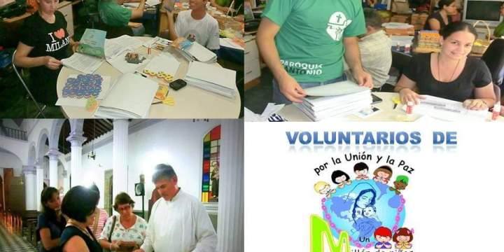 """¿Quieres ser voluntario de """"Un Millón de Niños Rezando el Rosario por la Unión y la Paz?"""
