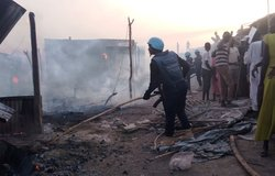 unmiss south sudan bentiu protection of civilians fire Ghanaian Formed Police Unit