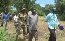 opposition troops cantonment sites eastern equatoria south sudan unmiss
