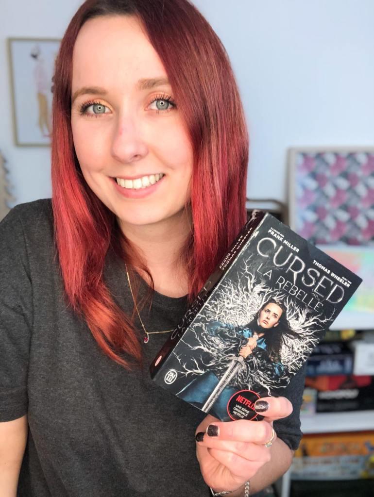 Chronique du livre Cursed: la rebelle