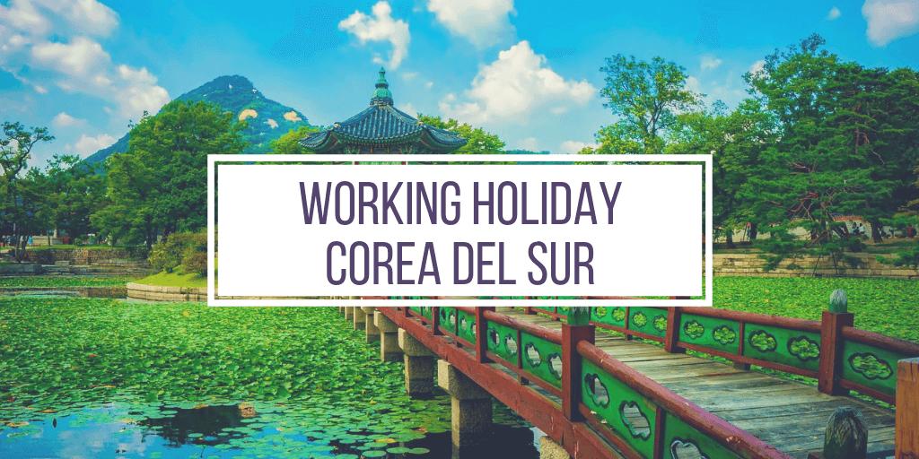 working holiday corea del sur