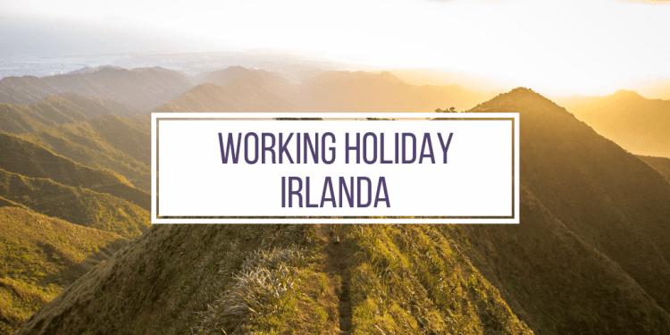 working holiday irlanda