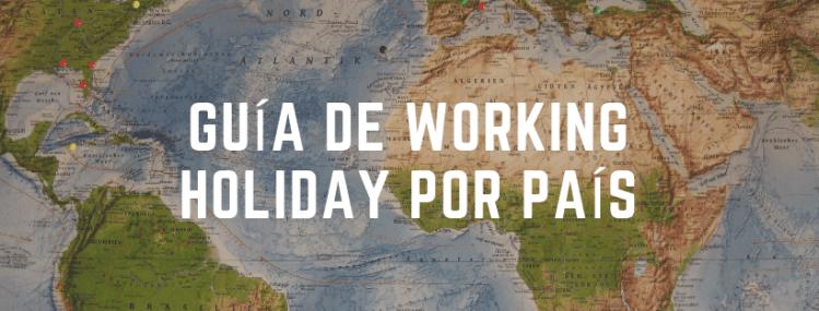 guia working holiday por país
