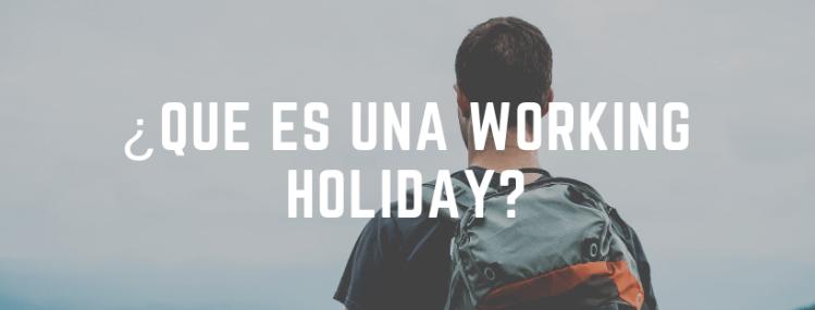 que es una working holiday