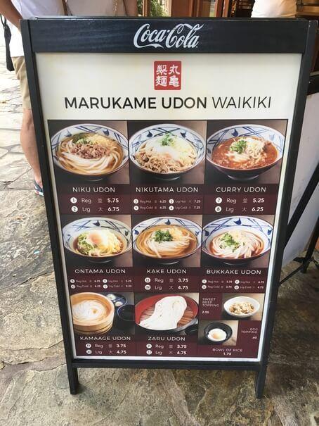 comer barato en hawaii waikiki