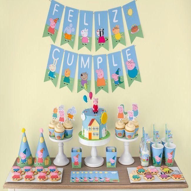 12 ideas para una fiesta de cumplea os infantil un mundo - Como hacer decoracion de cumpleanos ...