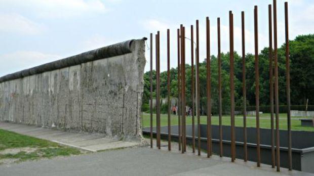 Berlín Wall memorial muro