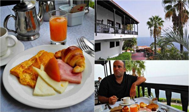 desayuno hotel jardin tecina la gomera