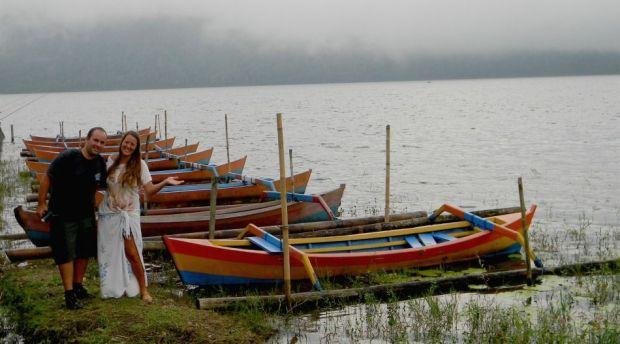 Lago Beratan en Bali