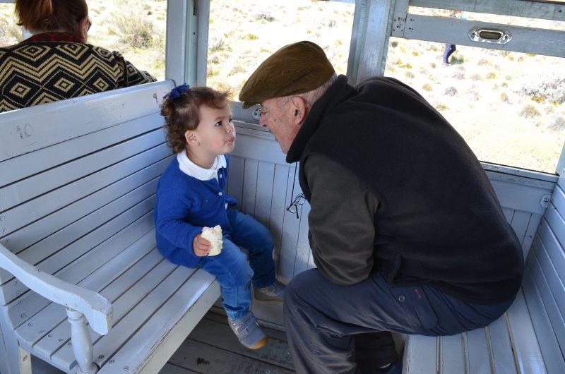 Ainara y su abuelo