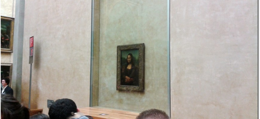 Mona Lisa Louvre Da Vinci