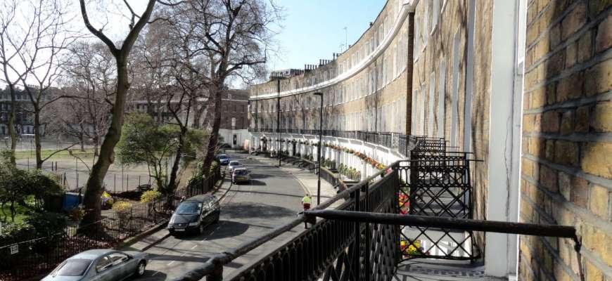 Bloomsbury balcony