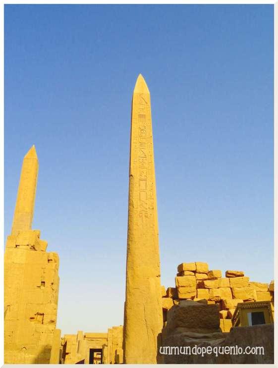 Templo de Karnak obeliscos