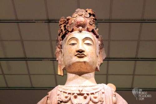 Bodhisattva statue met museum