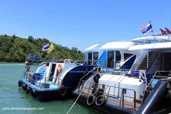 Phuket to Phi Phi ferry
