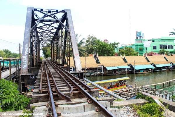 Taling Chan vías del tren