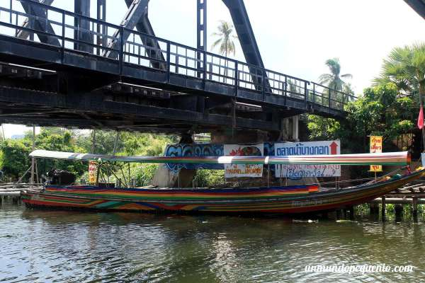 Long tail boat en Bangkok
