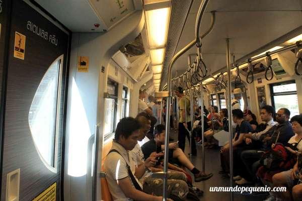 Skytrain de Bangkok