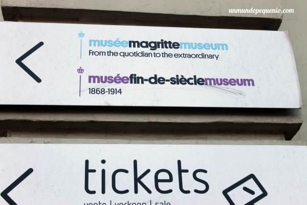 Cartel Museo Magritte