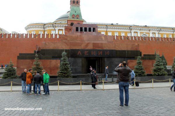 Mausoleo de Lenin en la Plaza Roja