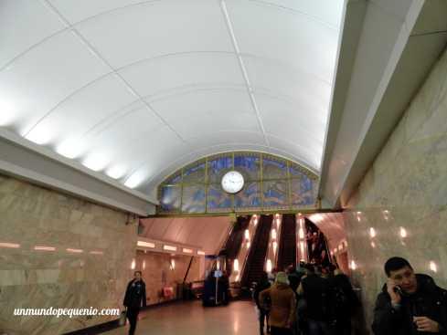 Pasillo de estación Admiralteyskaya