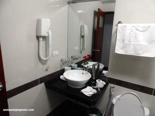 Pileta de baño Golden Legend Hotel Hanoi