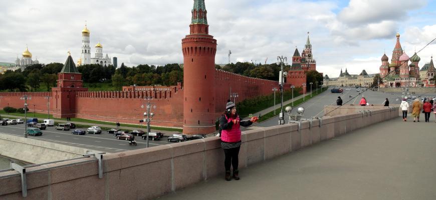 Yo en Moscú
