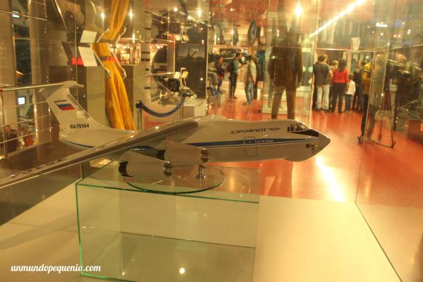 Maqueta de avión Aeroflot