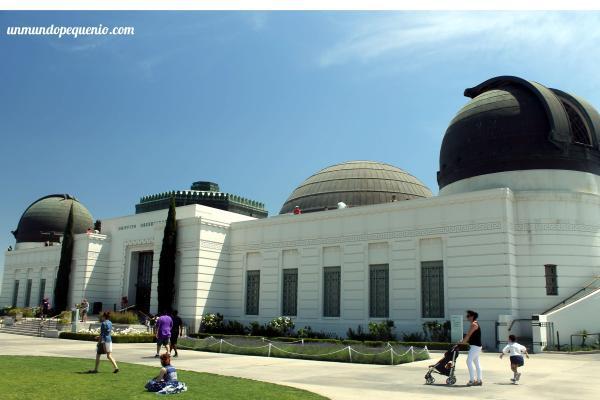 Frente del observatorio Griffith
