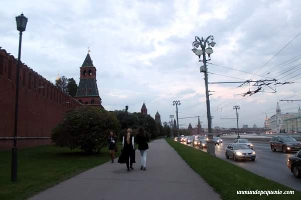 El Kremlin a la salida de la Armería