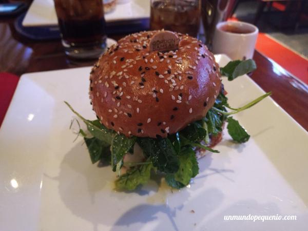Portobella Burger Gordon Ramsay