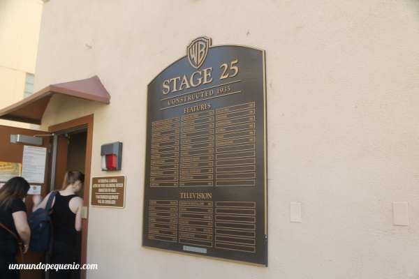 Stage 25 Warner Bros