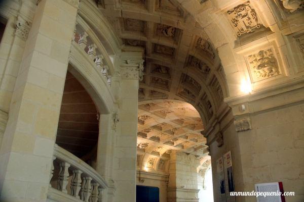 Techo del segundo piso de Chambord