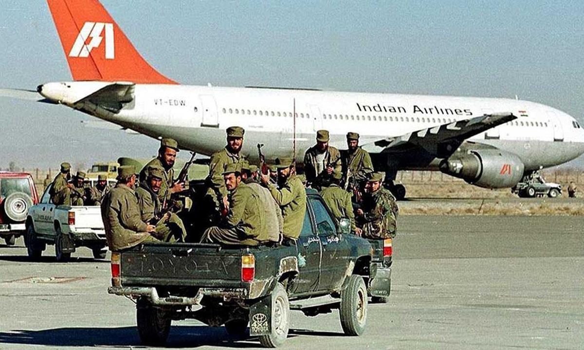 अपहरण गरी लगिएकाे इन्डियन एयरलाइन्सकाे जहाजसँगै अपहरणकारी