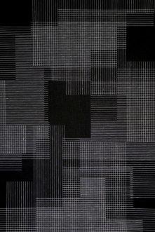 black series 7 #2 (detail), 190x130 cm