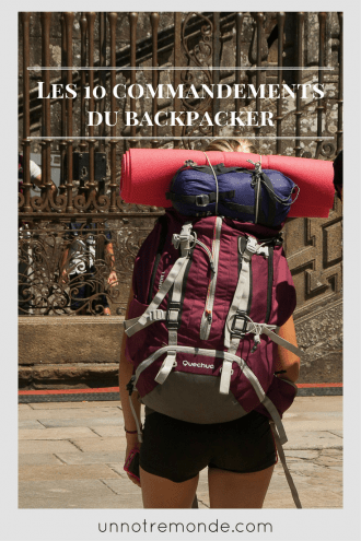 Sac à dos de backpacker