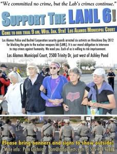 LANL 6 trial support flyer